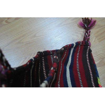 画像4: 東部のクルド系のウール織物から作られたオリジナルバック 48×40cm