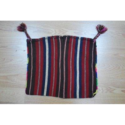 画像1: 東部のクルド系のウール織物から作られたオリジナルバック 48×40cm