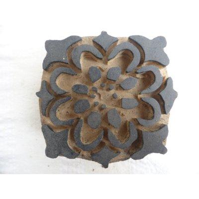 画像1: トカットのハンドプリントに使われる木版  Cintamani Gobek   13.5 ×13cm
