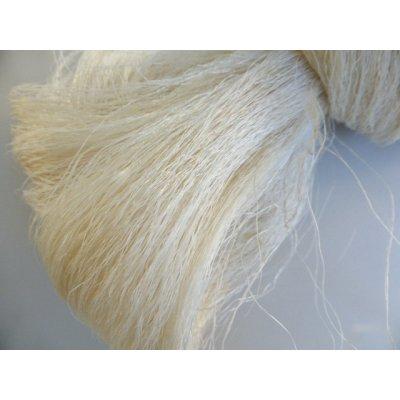 画像2: 在庫限り イーネオヤに使える未精練のシルク 自分で簡単に精練できます 約100g