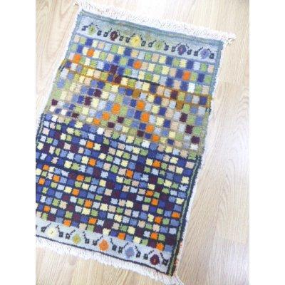 画像1: オールド絨毯 探してみてください 隠れミフラップ 74×54cm