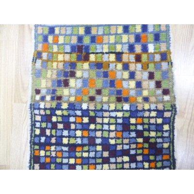 画像2: オールド絨毯 探してみてください 隠れミフラップ 74×54cm