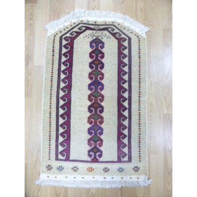画像2: オールド絨毯 トゥルクメンのお祈り用 122×77cm