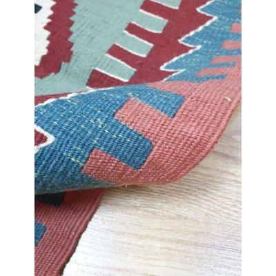 画像5: 特別価格60%off 新作キリム ウール100% エシメの目の詰まったしっかりした平織の手織物 遊牧民モデル 83×62cm